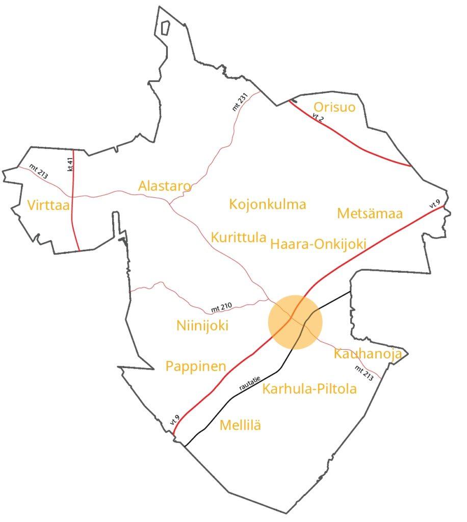 Kartat Loimaa