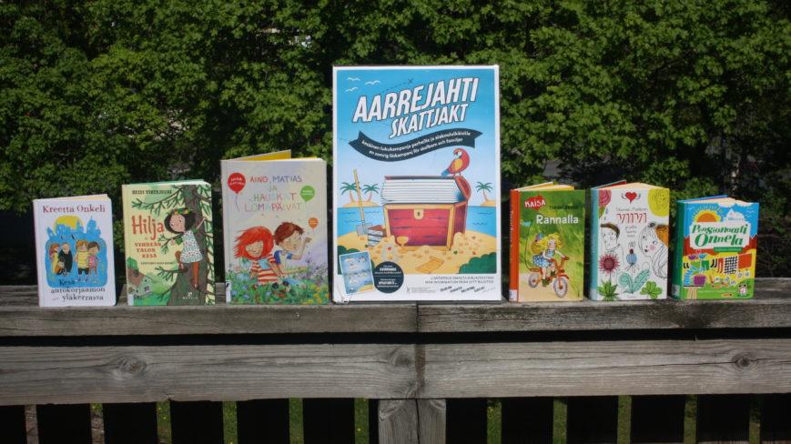 Kesälukukampanjan kirjoja.