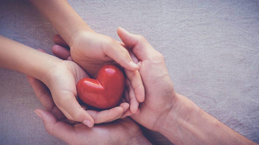 kädet ja sydän