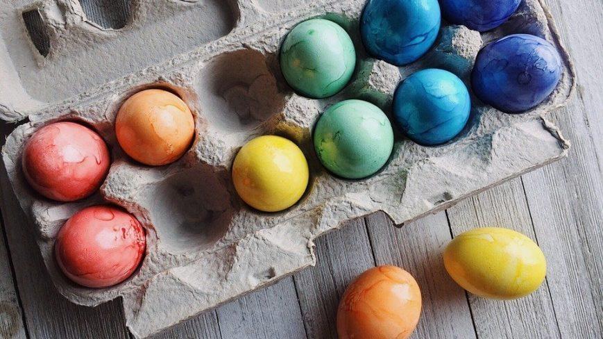 Pääsiäisen kuvituskuva.